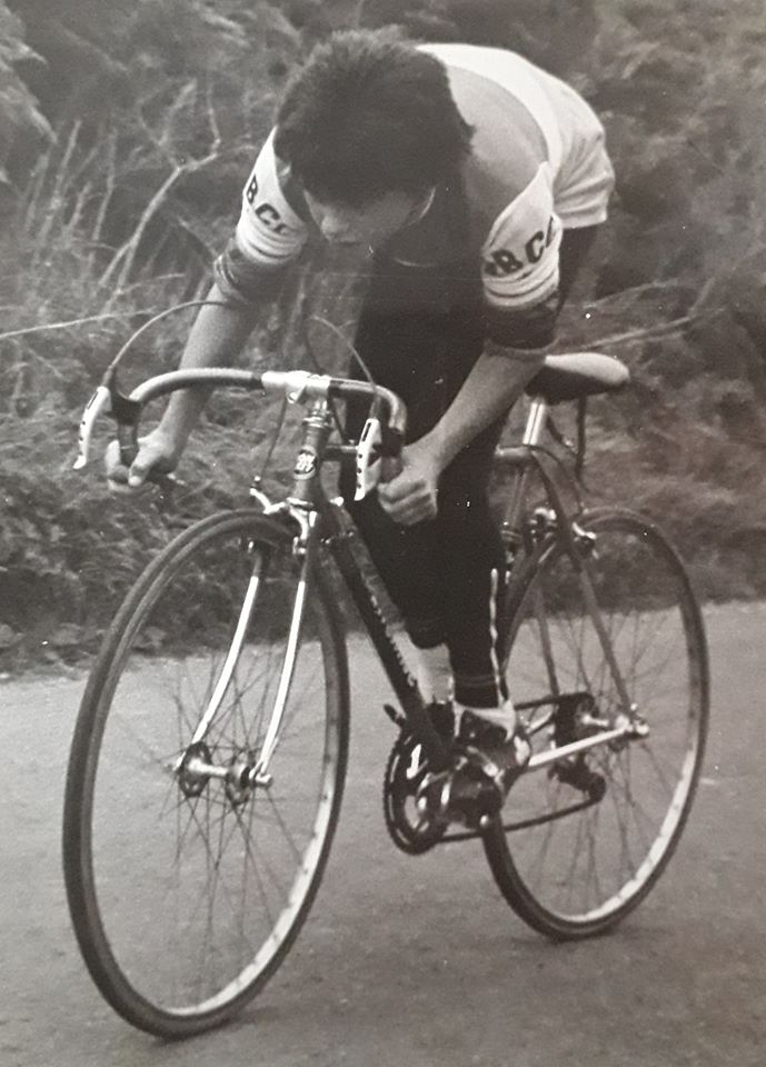 NBCC Hill climb, Hope Mountain 1979